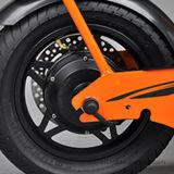 Motocicleta eléctrica del asiento doble de 2 ruedas con el asiento trasero