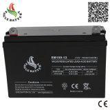 熱い販売12V 100ah AGMの手入れ不要の鉛酸蓄電池