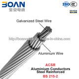 ACSRの補強されるアルミニウムコンダクターの鋼鉄(BS 215-2)