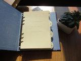주문 중국 두꺼운 표지의 책 느슨한 잎 노트북 (XLH32120-X02)