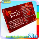 Tarjeta inteligente clásica modificada para requisitos particulares del PVC MIFARE 1K RFID de la impresión de la insignia