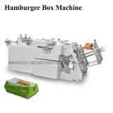 Máquina fácil de la fabricación de cajas del almuerzo del papel de la alta calidad de la operación (QH-9905)