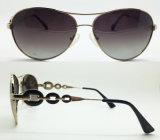 Nuevas gafas de sol del metal de la manera para las mujeres