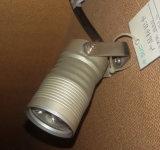 Lámpara de aluminio caliente del punto de la plata LED del redondo de venta