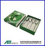 La venta caliente modificó el rectángulo de regalo para requisitos particulares determinado de la cuchillería del papel/de la cartulina