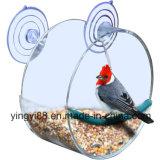 Premium Window Clear Acrylic alimentador de aves con hermosa caja de regalo