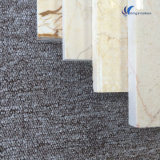 Mattonelle di pietra beige bianche naturali personalizzate