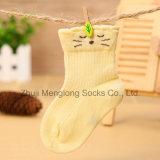 Calzini del cotone del capretto di disegno del gattino della maglia di estate ciao