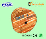 Оптическое Fiber Cable GYTA53 Steel Tape бронированное с PE Sheath Double
