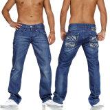 Pantalones de los pantalones vaqueros del algodón del dril de algodón de la calidad de los hombres al por mayor Niza