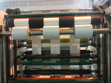 Alta velocidade que corta & máquina do rebobinamento para o papel