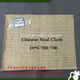 paño chino del sisal 10*8 700/700 para la rueda de pulido