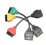 Alpha- voor de Kabels van de Adapter van FIAT voor Multiecuscan/Fiatecuscan