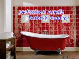 Bañera clásica de acrílico modificada para requisitos particulares venta caliente