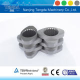 Запасное Parts Screw Element для Twin Screw Plastic Extruder