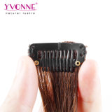 100% Real superiore Human Hair Clip in Hair Extensions