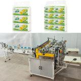 Tecido facial da prensa de papel de Softpack Semi-Auto que empacota a máquina
