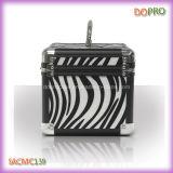 Kleine Zebra-Muster-Metallkästen für Verfassung (SACMC139)