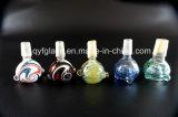 Tazón de fuente de cristal de la hierba de los accesorios que fuma para el agua Pipe#2831