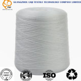 Fils de polyesters tournés blancs crus de 100% 50/2 filé de couture