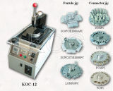 Máquina pulidora óptica de la fibra operacional fácil Koc-12 de Optcial de la fibra