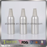 Пустая алюминиевая бутылка пива с крышкой кроны