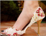 Schöne Rosen-Frauen-reizvolle Absatz-Sandelholze