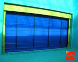 Industril alta velocidad Puerta plegable de PVC rápida Fabricante (HF-1038)