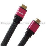 Кабель покрынный золотом соединения HDMI верхнего качества 15m 50FT V2.0 V1.4 HD 2160p для HDTV