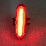 明確なカバー工場自転車のテールライト2カラー可変性の防水安全警告ランプのバイクの後部ライト