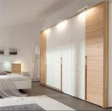 Ritz 가정 가구, 백색 높은 광택 침실 가구 세트, 나무로 되는 옷장