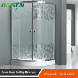 Cabine chaude de douche de porte coulissante de vente