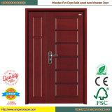 Panel-Tür-Innentür-hölzerne Tür hölzerne PVC-Tür