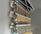 toldo retrátil impermeável do frame de alumínio moderno de 4X3m
