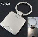 Zink Keychain mit Abnehmer-Laser-Firmenzeichen