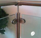 Vidro ajustável do corrimão/suporte de vidro de aço