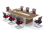 Tableau de conférence rectangulaire direct de mélamine de bureau de formation de bureau de vente (SZ-MTT092)