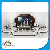 Carrinho de indicador de madeira Tabletop dos relógios da grande capacidade