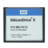 Карта памяти CF Silicondrive 512MB Compactflash PATA промышленная