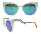 2016 occhiali da sole polarizzati acetato italiano dell'occhio di gatto di Dseign di modo
