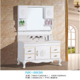 Side Cabinet를 가진 Type 유럽 PVC Floor Standing Bathroom Vanity