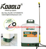 20L het Venster dat van het huis de Spuitbus van de Rugzak van de Batterij 2ah12V schoonmaakt