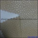 Couro do plutônio para o material do couro de sapatas dos sacos das sapatas