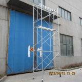 안전한 내구재 SGS 건축을%s 승인되는 H 프레임 비계