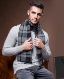 人の方法冬のウールポリエステルナイロンアクリルの編まれたスカーフ(YKY4601)
