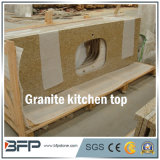 Granito natural polido, mármore, Quartz Stone Vanity / Bathroom & Kitchen Countertop