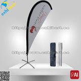 Bandierina promozionale della piuma della bandierina di volo della bandierina di spiaggia con stampa