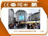 Pantalla de visualización de LED de la publicidad al aire libre de SMD P6