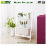 Home Furniture (2 TierのWS16-0060、)のための2016熱いSale White Display Shelf