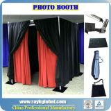 A tubulação por atacado e drapeja a tubulação personalizada da cabine da foto e drapeja o sistema